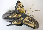 Swallowtail - Metal Butterfly Sculpture by Buzz Leighton